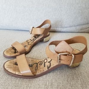 Sam Edelman Trixie FF tan sandal size 8